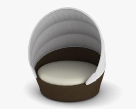 Dedon Orbit Loveseat Sofa 3D model