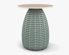 Dedon Porcini Side Table 3D model