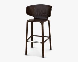 Dedon Seashell Bar stool 3D model
