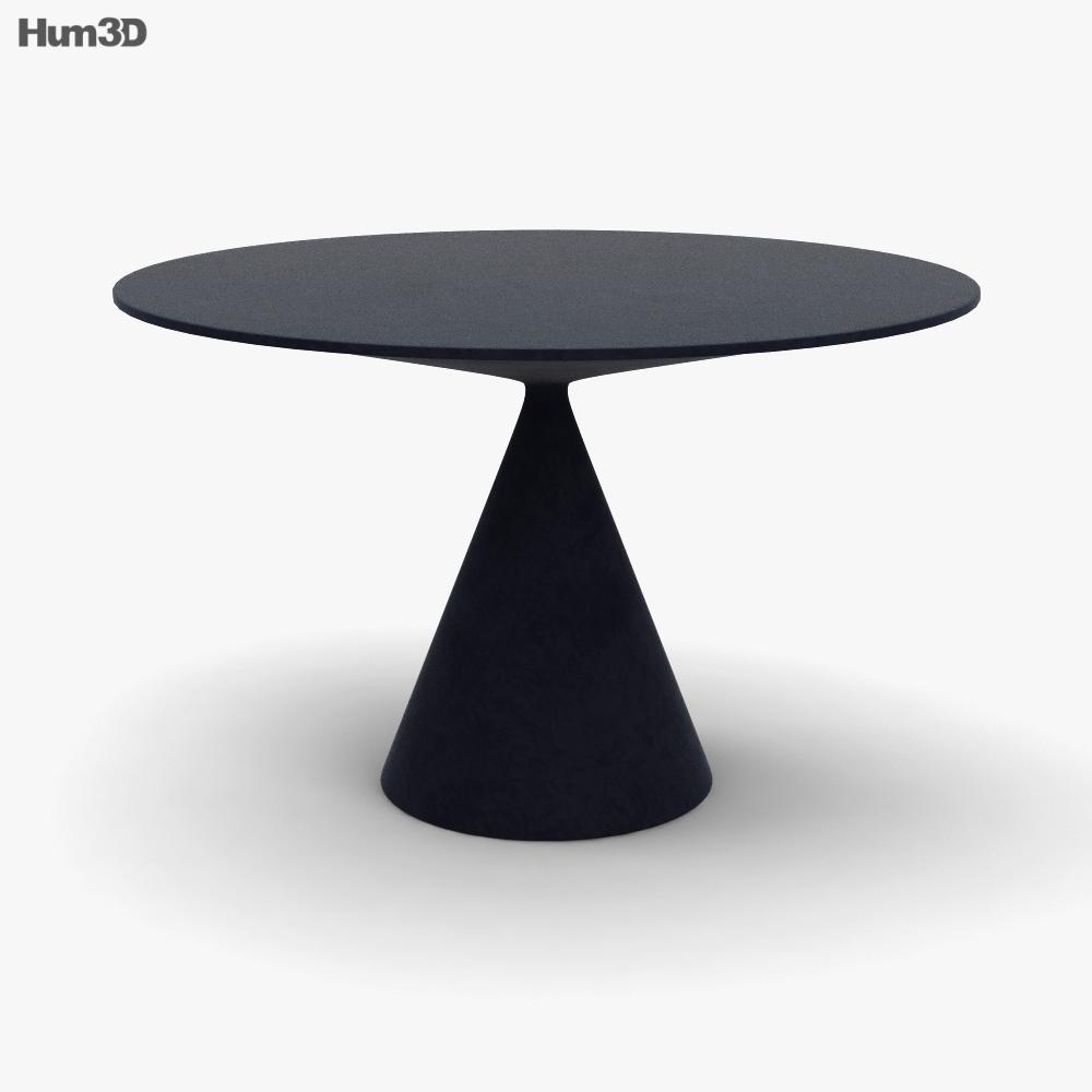 Desalto Clay Table 3D model