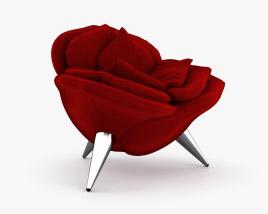 Edra Rose Chair 3D model