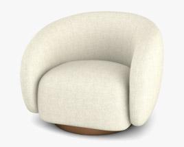 Eichholtz Brice Swivel chair 3D model
