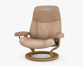 Ekornes Ambassador Silla de Oficina Modelo 3D