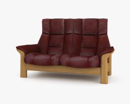 Ekornes Buckingham Two-Seat Sofa 3D model