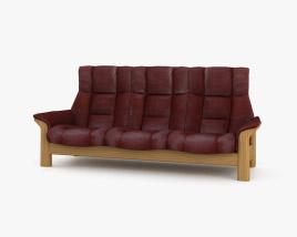 Ekornes Buckingham Three-Seat sofa 3D model