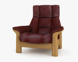 Ekornes Buckingham Armchair 3D model