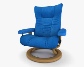 Ekornes Eagle Chair 3D model