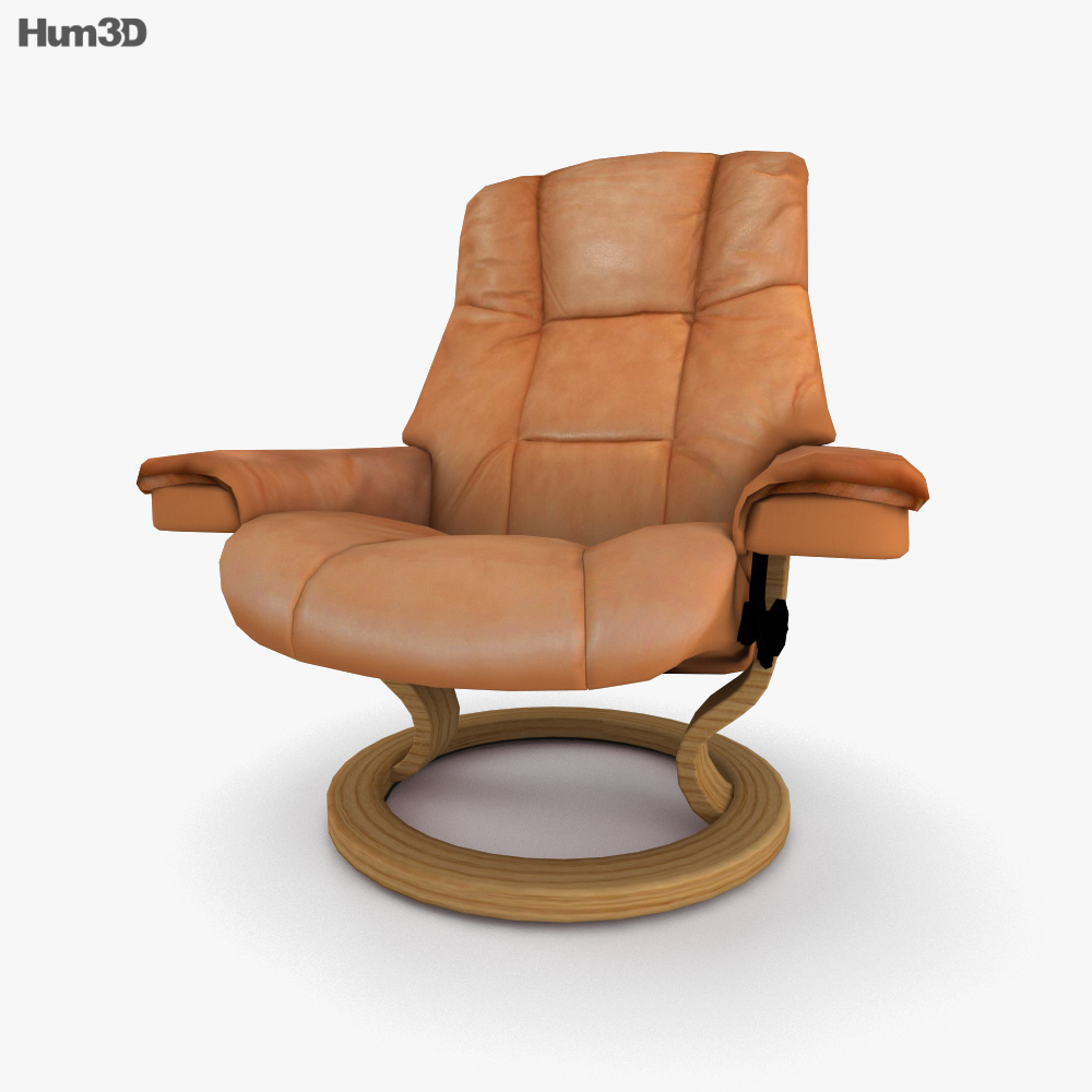 Ekornes Mayfair Armchair 3D model