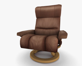 Ekornes Memphis Armchair 3D model