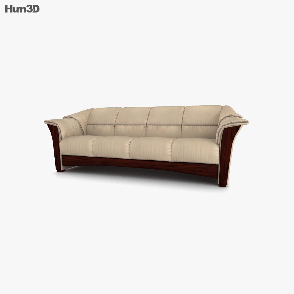Ekornes Oslo Sofa 3d model