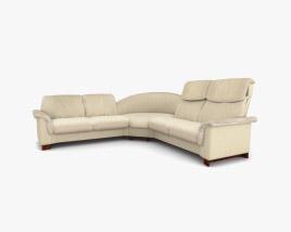 Ekornes Paradise Corner sofa 3D model