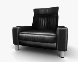 Ekornes Space High-Back Armchair 3D model