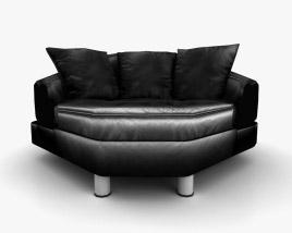 Ekornes Space Medium Corner sofa 3D model