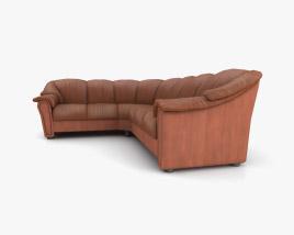 Ekornes Stockholm Corner sofa 3D model