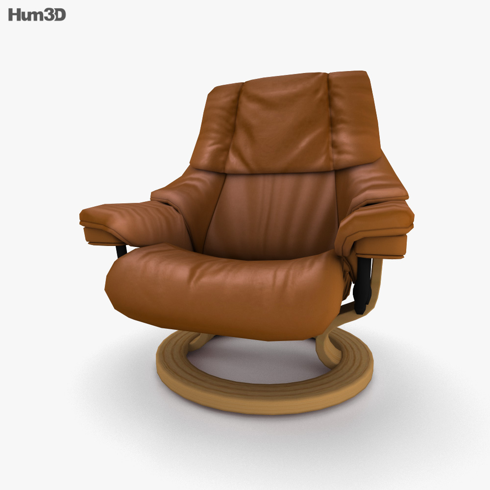 Ekornes Tampa Chair 3D model