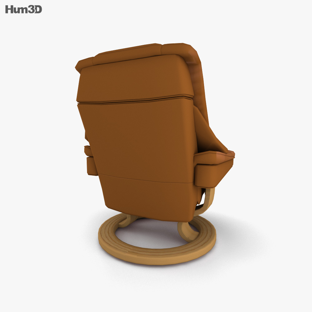 Ekornes Vegas Chair 3d model