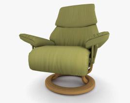 Ekornes Vision 肘掛け椅子 3Dモデル