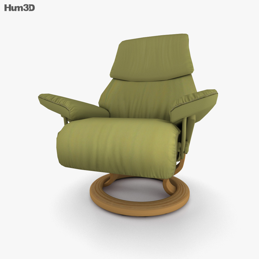 Ekornes Vision Armchair 3D model