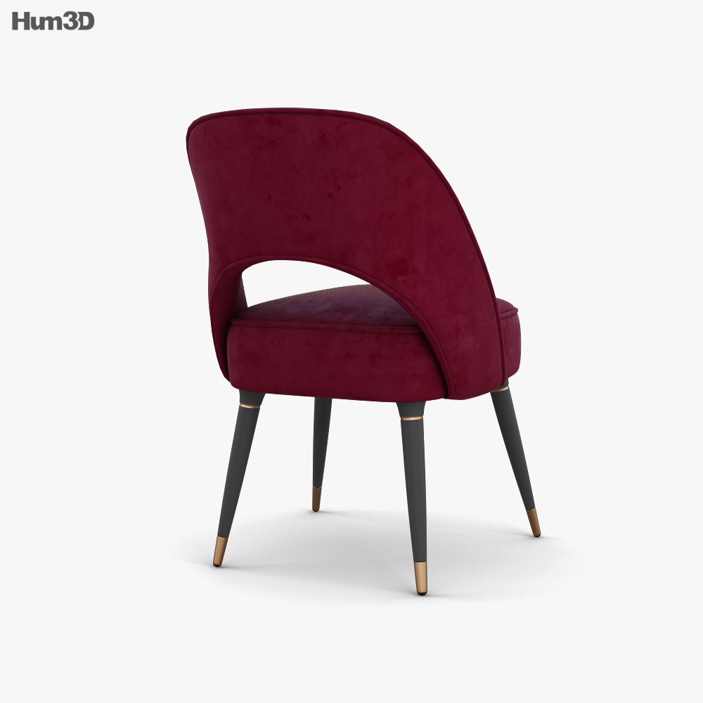 Essential Home Collins Dining chair 3d model