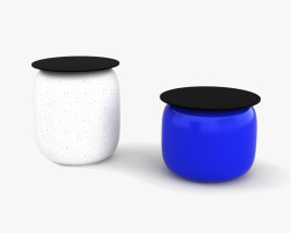Fermob Fat and Slim Table 3D model
