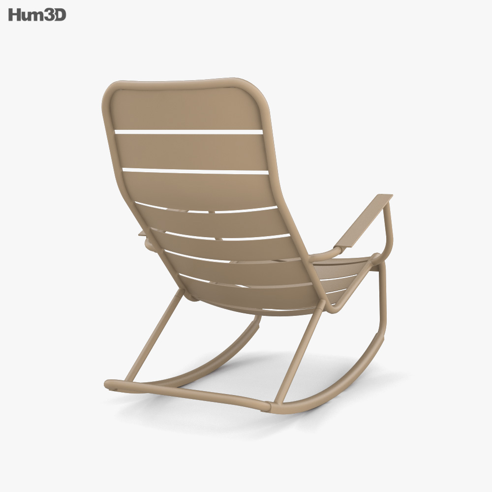Fermob Luxemburg Rocking chair 3d model