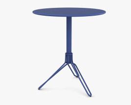 Fermob Flower Pedestal Table 3D model