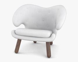 Finn Juhl Pelican Chair 3D model