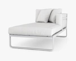 Gandia Blasco Flat Modular 2 Sofa 3D model
