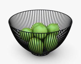 Sooyee Metal Wire Fruit Basket 3D model