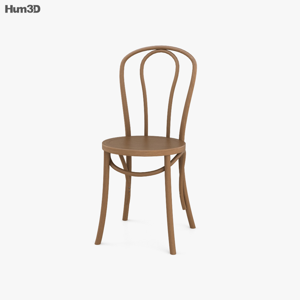French Bistro Chair 3D model