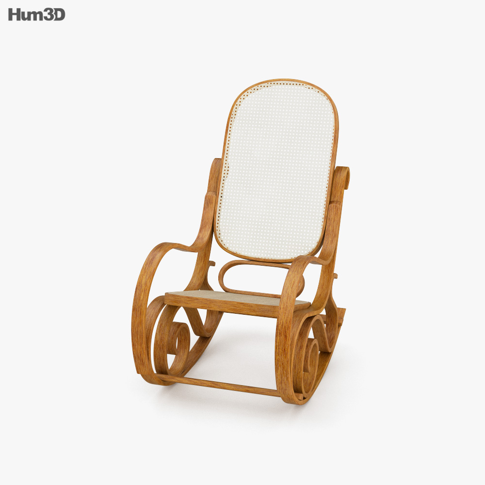 Vintage Rocking chair 3D model