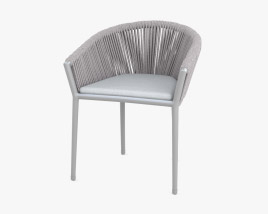 Generic Muse Dining Chair 3D model