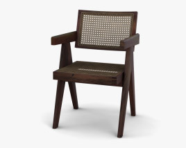 Pair Of Jeanneret Armchair 3D model