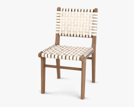 Strap Girona Dining chair 3D model