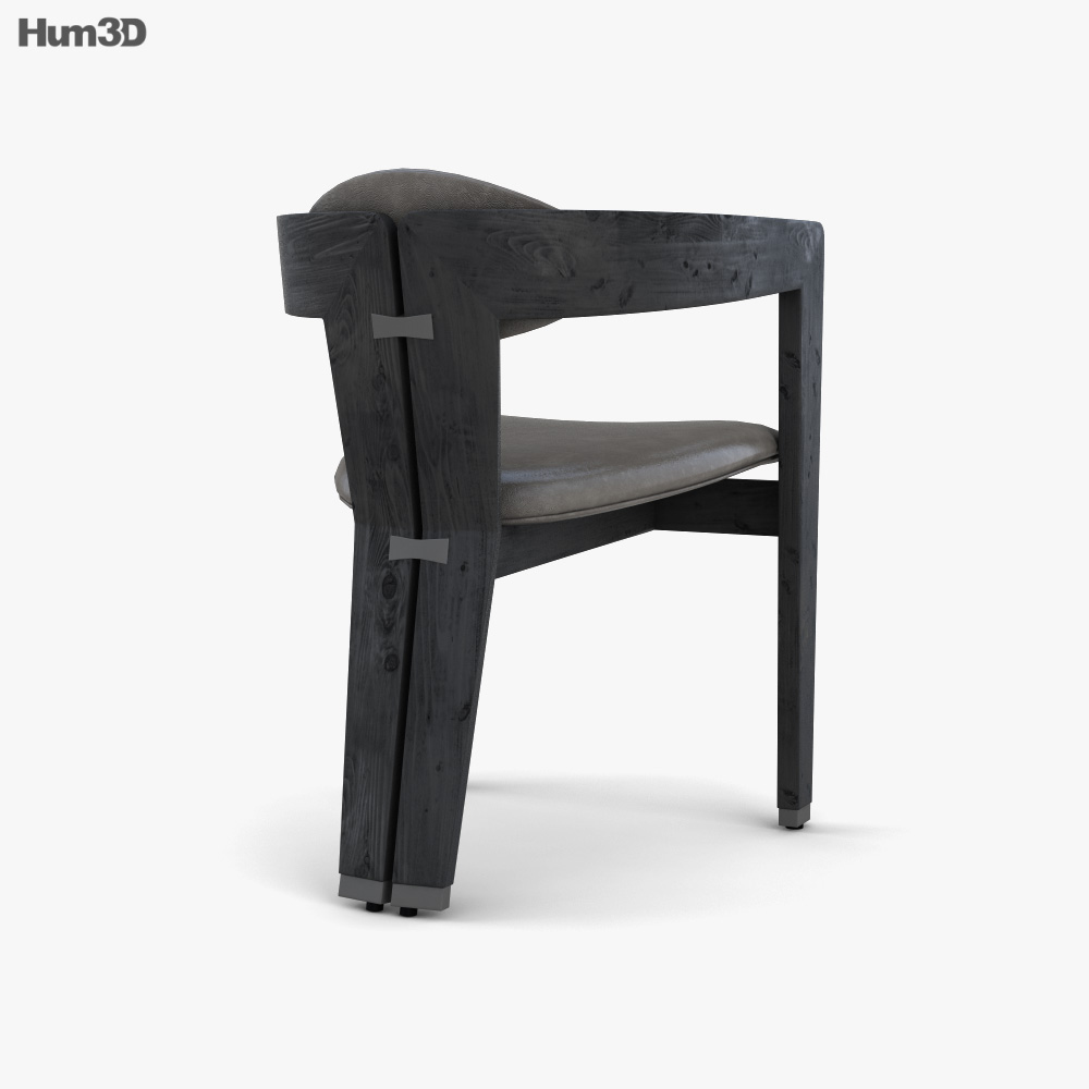 Maryl Dining chair 3d model