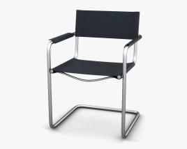 Bauhaus MS65 Armchair 3D model