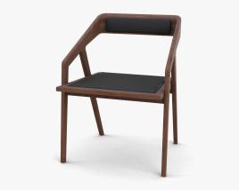 Katakana Dining chair 3D model
