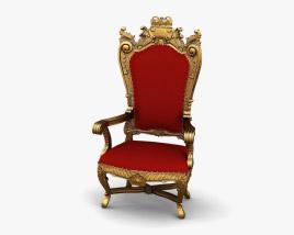 Royal Throne 3Dモデル