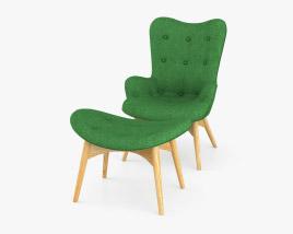 Grant Featherston R160 Contour Chair 3D model