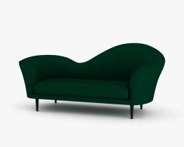 Gubi Grand Piano Sofa 3D model