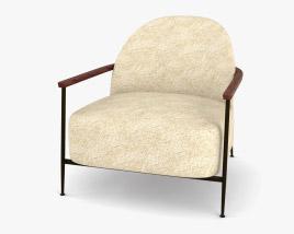 Gubi Sejour Lounge chair 3D model