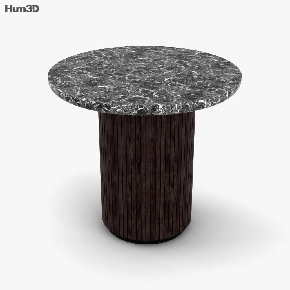 Gubi Moon Lounge Table 3D model