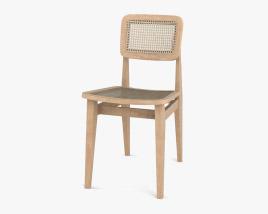 Gubi C-Chair Dining chair 3D model