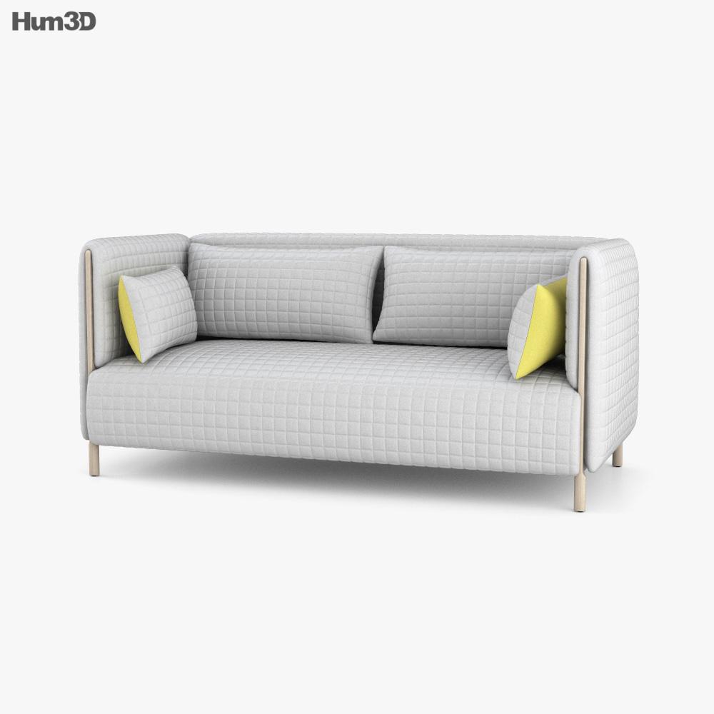 Herman Miller ColourForm Sofa 3D model