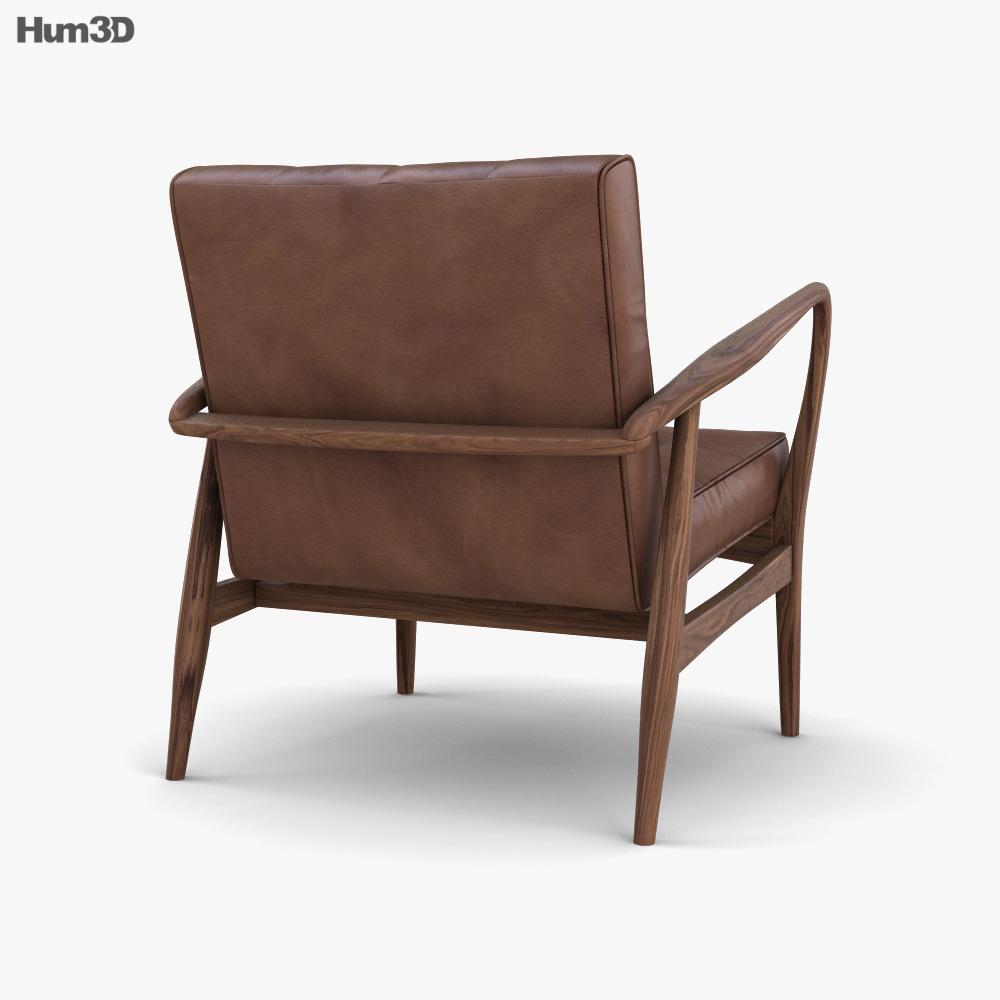 Humber Vintage armchair 3d model