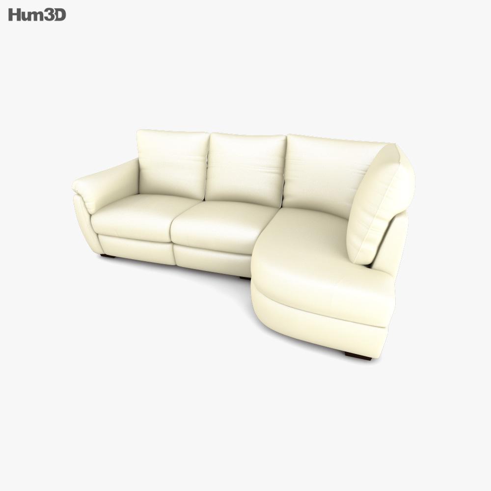 IKEA ALVROS Sofa 3D model