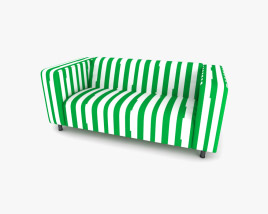 IKEA KLIPPAN Canapé Modèle 3D