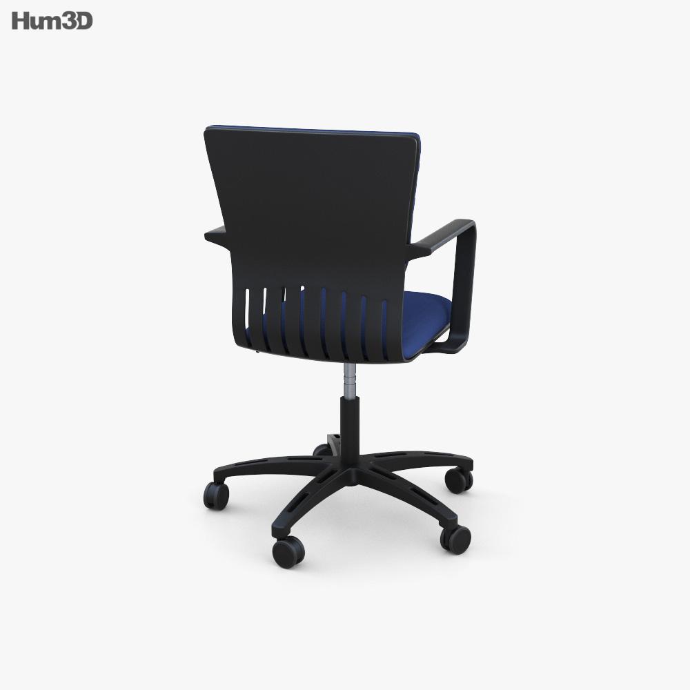 IKEA JOAKIM Swivel chair 3d model