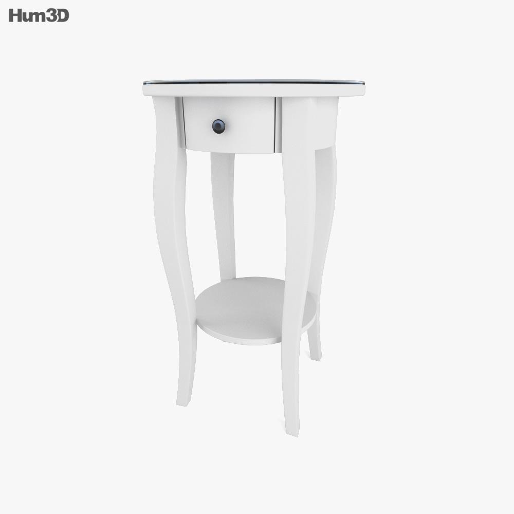 IKEA HEMNES Bedside table 1 3D model