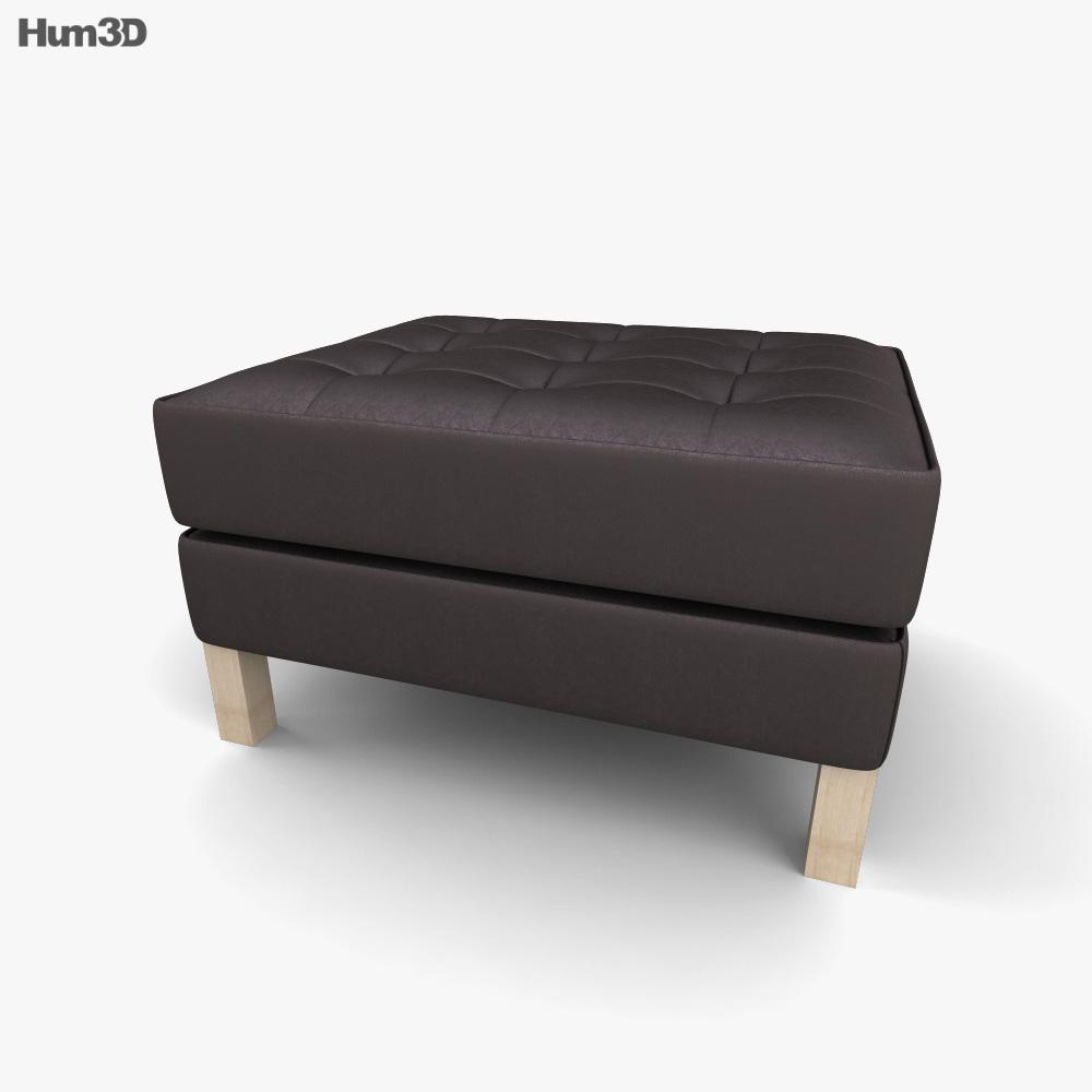 IKEA KARLSTAD Ottoman 3D model